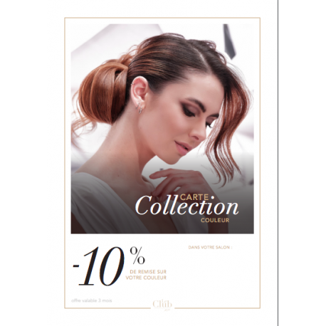 CARTES COLLECTION COLORATION - 10%